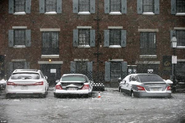 Nước Mỹ tê cứng trong 'bom bão tuyết': Người chết cóng, cá mập sốc nhiệt và hàng loạt ô tô 'biến mất' - Ảnh 17.