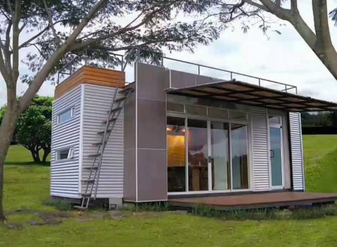 15 ngôi nhà độc đáo trên thế giới được tạo nên từ… container tái chế - Ảnh 17.