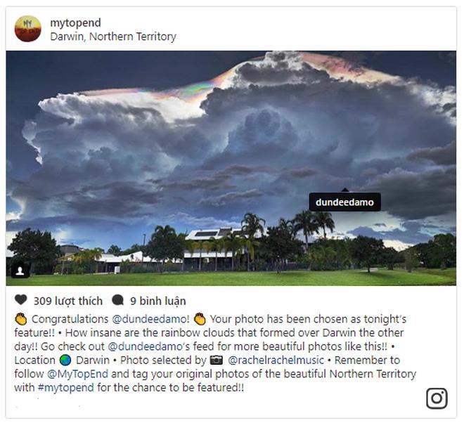 Hiện tượng mây kỳ ảo xuất hiện bất thình lình trên bầu trời nước Úc - Ảnh 3.