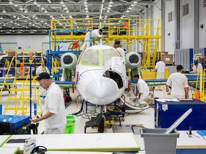 Thăm nhà máy Honda, nơi sản xuất những chiếc máy bay tư nhân của tương lai - Ảnh 4.