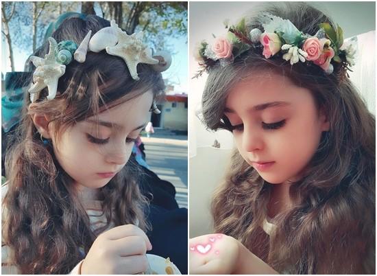 Thiên thần nhỏ người Iran khiến cư dân mạng Trung Quốc sửng sốt vì giống mỹ nữ Tân Cương Địch Lệ Nhiệt Ba - Ảnh 4.