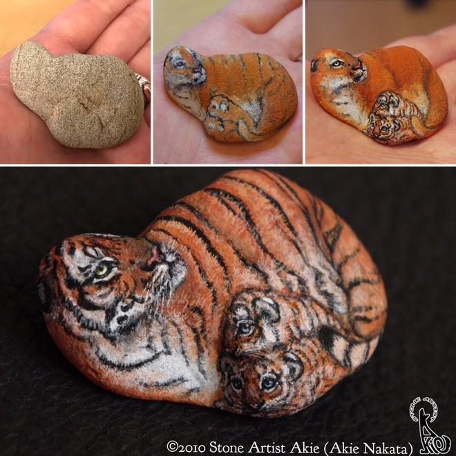 Nhặt những viên đá vứt đi, nghệ nhân điêu khắc Nhật Bản đã làm điều không ai ngờ tới - Ảnh 6.