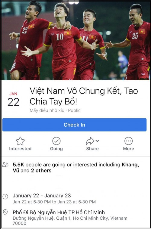 Lập sự kiện 'rủ rê xem U23 Việt Nam đá bán kết' đang là 'trend' của ngày hôm nay! - Ảnh 8.
