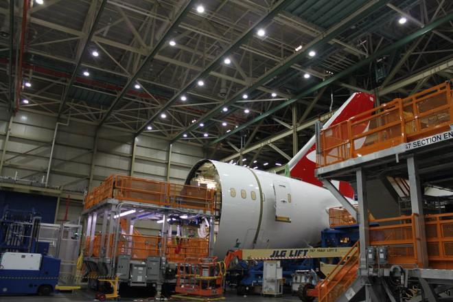 Bên trong nhà máy Boeing: Nơi ra đời những chiếc phi cơ biểu tượng của nước Mỹ - Ảnh 8.