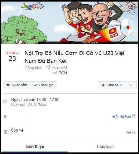 Lập sự kiện 'rủ rê xem U23 Việt Nam đá bán kết' đang là 'trend' của ngày hôm nay! - Ảnh 9.