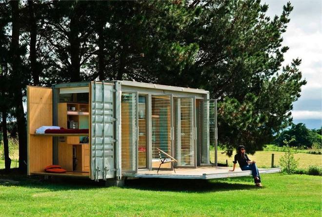 15 ngôi nhà độc đáo trên thế giới được tạo nên từ… container tái chế - Ảnh 10.