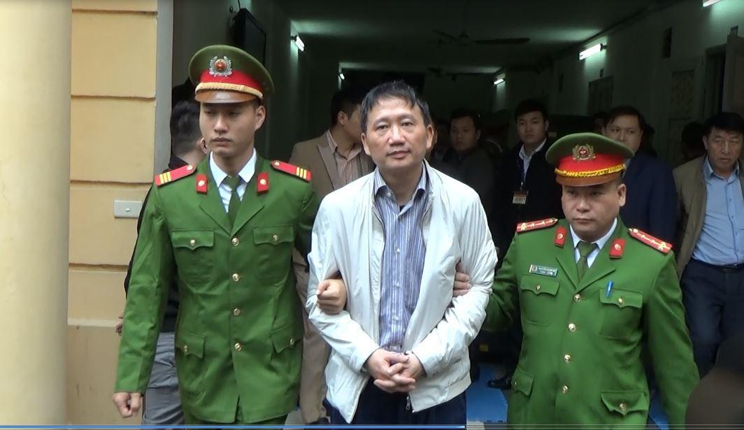 Hội đồng xét xử tuyên án chung thân đối với bị cáo Trịnh Xuân Thanh