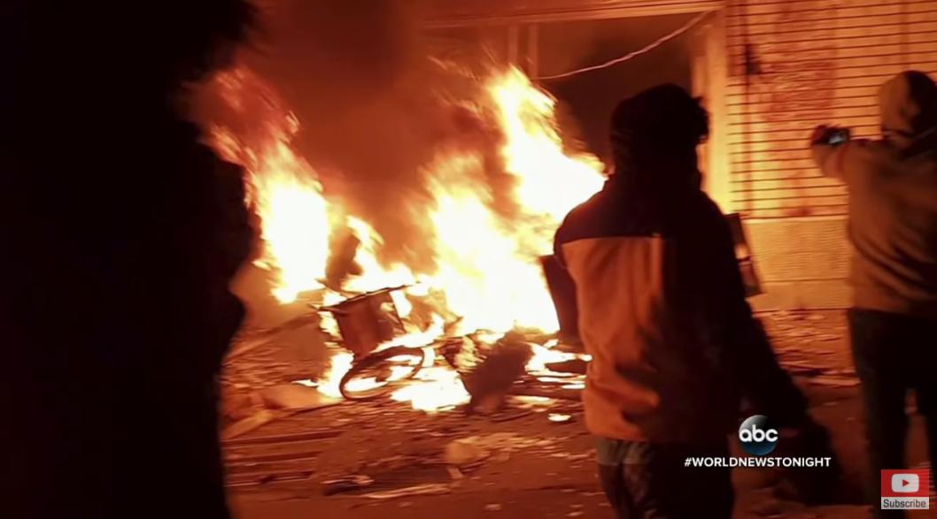 Biểu tình liên tiếp nổ ra tại Iran gây bất ổn đất nước. Nguồn: ABC News