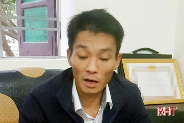 Công an TX Hồng Lĩnh bắt giữ nhiều đối tượng trốn nã - Ảnh 1.