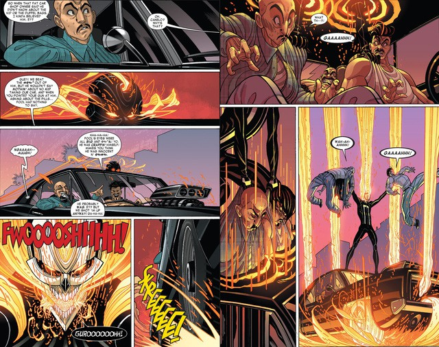 Truyền thuyết về Robbie Reyes, Ghost Rider siêu ngầu chơi hẳn ô tô chứ không phải xe máy hay cưỡi ngựa - Ảnh 3.