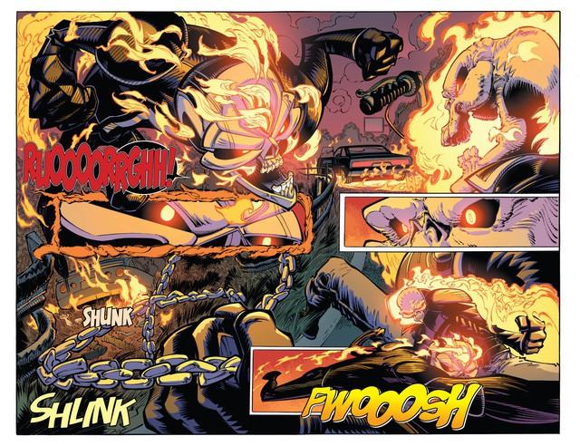 Truyền thuyết về Robbie Reyes, Ghost Rider siêu ngầu chơi hẳn ô tô chứ không phải xe máy hay cưỡi ngựa - Ảnh 5.