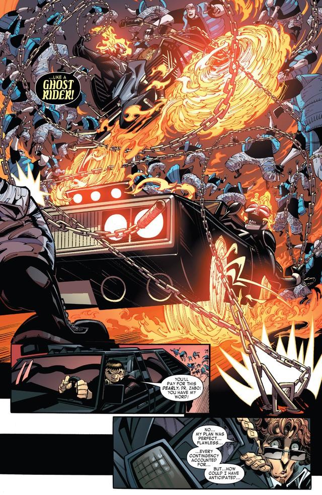 Truyền thuyết về Robbie Reyes, Ghost Rider siêu ngầu chơi hẳn ô tô chứ không phải xe máy hay cưỡi ngựa - Ảnh 6.