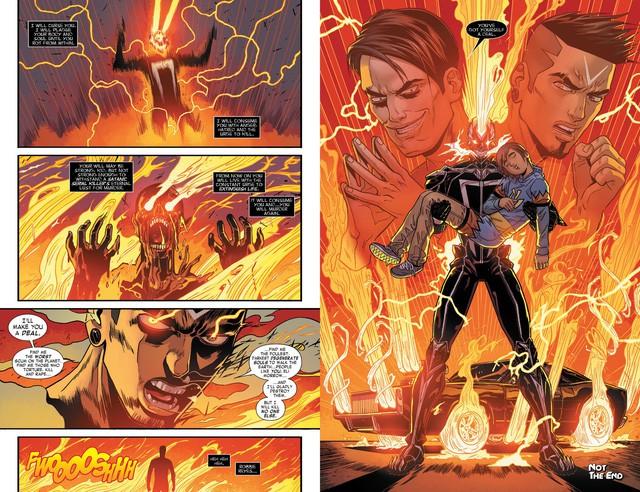 Truyền thuyết về Robbie Reyes, Ghost Rider siêu ngầu chơi hẳn ô tô chứ không phải xe máy hay cưỡi ngựa - Ảnh 9.