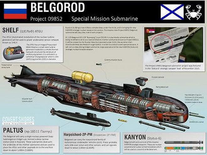 [ẢNH] NATO hốt hoảng khi Nga công bố số lượng ngư lôi hạt nhân Poseidon sắp trực chiến - Ảnh 14.