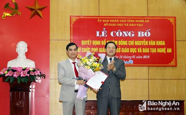 Nhân sự mới Thanh Hóa, Nghệ An, Đà Nẵng - Ảnh 1.