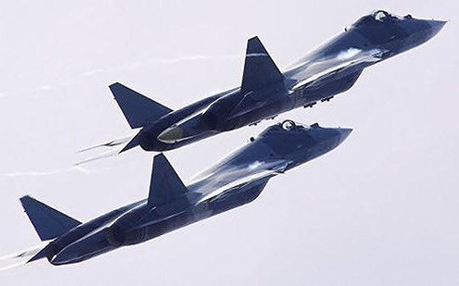 [ẢNH] Lớp sơn đặc biệt mới nhân đôi khả năng tàng hình của Su-57 - Ảnh 4.