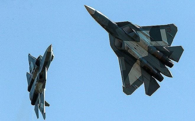 [ẢNH] Lớp sơn đặc biệt mới nhân đôi khả năng tàng hình của Su-57 - Ảnh 6.