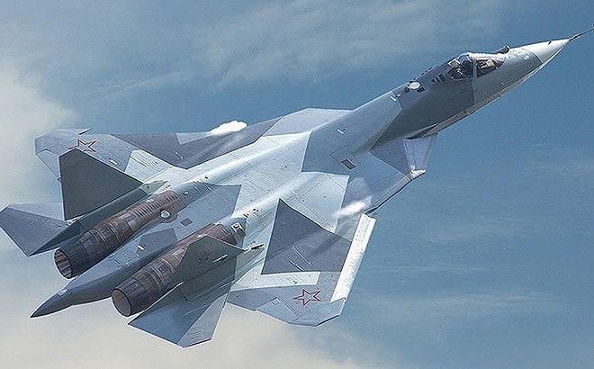 [ẢNH] Lớp sơn đặc biệt mới nhân đôi khả năng tàng hình của Su-57 - Ảnh 7.