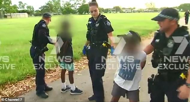 Bắt giữ băng nhóm trộm xe, cảnh sát kinh ngạc khi thấy diện mạo thật của nghi phạm - Ảnh 1.