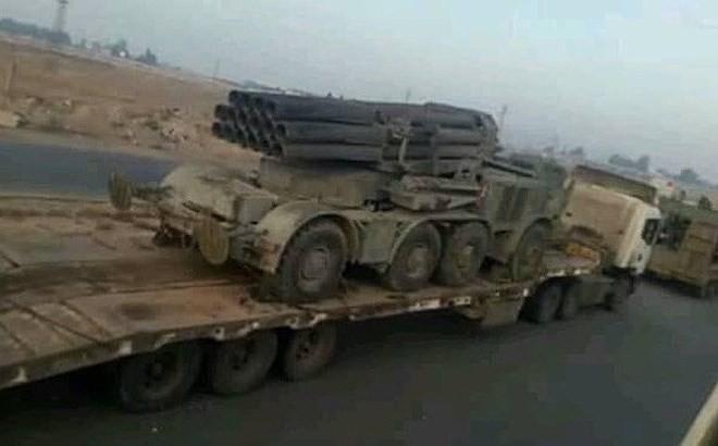 [ẢNH] Quân đội Syria sẽ nhanh chóng đập tan cứ điểm Idlib khi tăng cường bão lửa cực mạnh? - Ảnh 1.