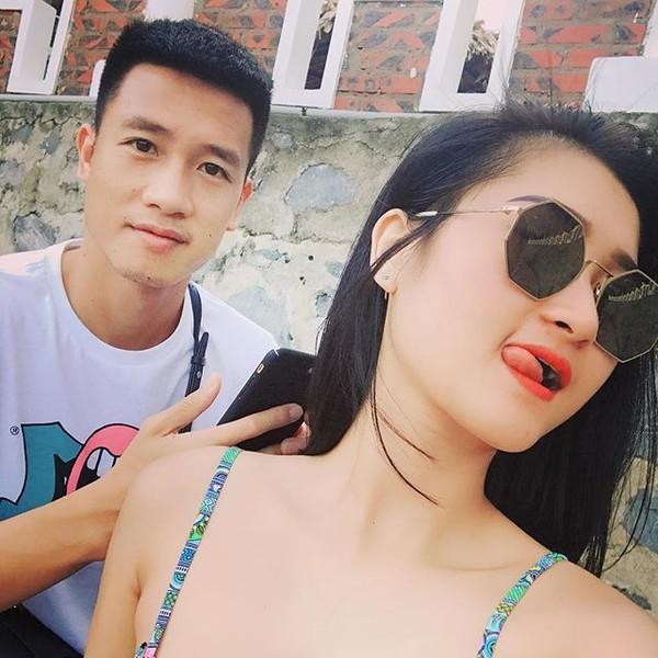 Bạn gái tiền vệ tuyển Việt Nam bất ngờ đi đóng phim - Ảnh 2.