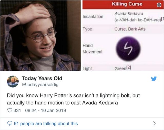 Hé lộ bí mật động trời về vết sẹo tia chớp trên trán Harry Potter - Ảnh 1.