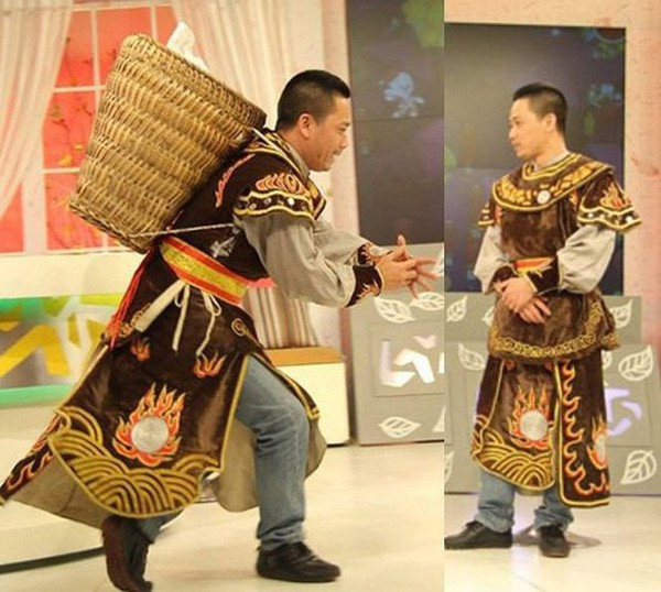 Thiên Lôi xấu nhất Táo quân và chuyện cưới vợ là thí sinh Hoa hậu Việt Nam - Ảnh 2.
