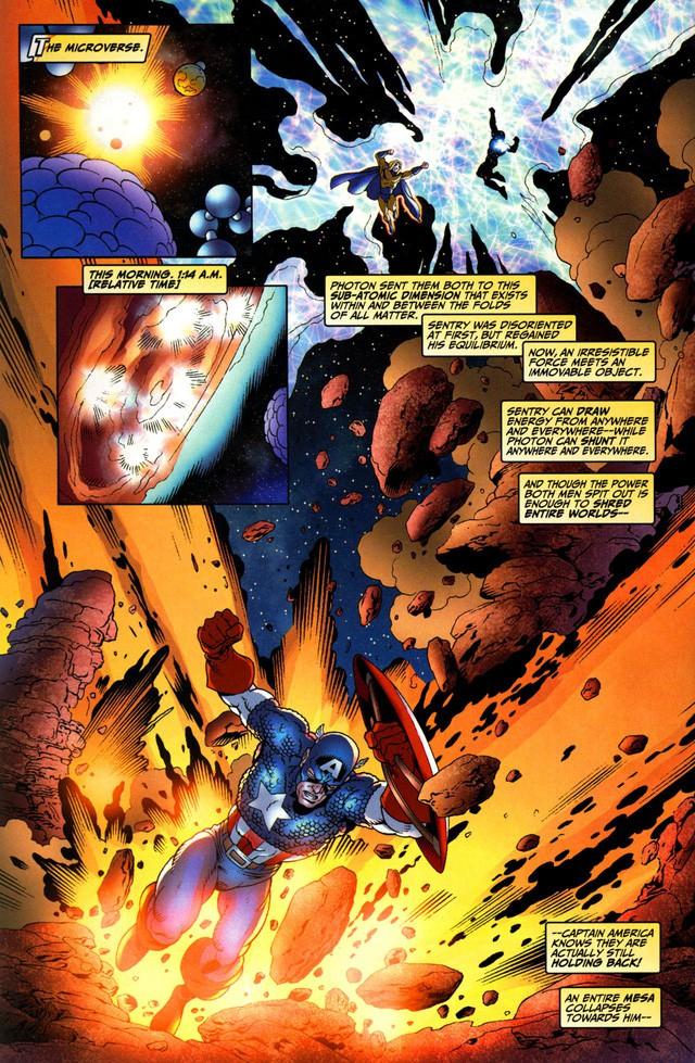 Superman và Sentry, ai mới thực sự là siêu anh hùng mạnh hơn? - Ảnh 3.