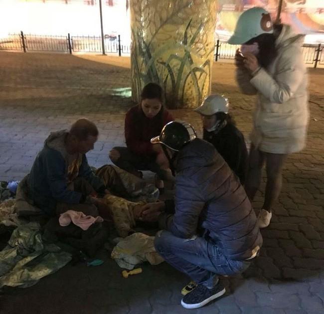 Thông tin bất ngờ về ông ngoại 72 tuổi ôm cháu bé 3 tuổi đi lang thang giữa trời lạnh ở Hà Nội - Ảnh 4.
