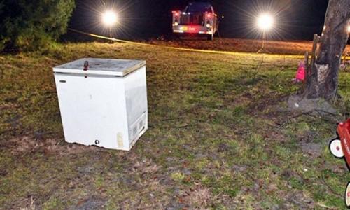 Kinh hoàng phát hiện 3 em nhỏ chết thương tâm trong tủ đông lạnh - Ảnh 1.