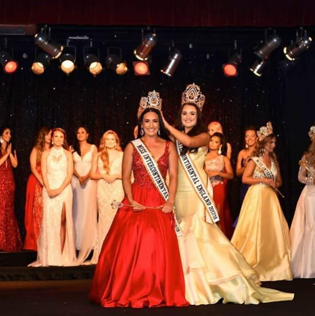 Nhan sắc đối thủ của Lê Âu Ngân Anh tại Hoa hậu Liên lục địa gây tranh cãi - Ảnh 8.