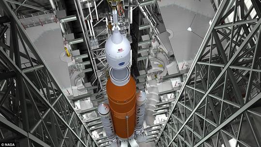 NASA tiết lộ về siêu tên lửa đưa con người đến tận Sao Hỏa - Ảnh 3.