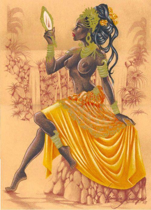 6 nữ thần đại diện cho tình yêu và sắc đẹp trong thần thoại khiến biết bao đàn ông trồng cây si - Ảnh 3.