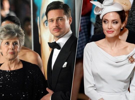 Tức giận vì Angelina Jolie hủy hoại cuộc đời con trai, mẹ Brad Pitt muốn gặp con dâu cũ để đối chất - Ảnh 1.