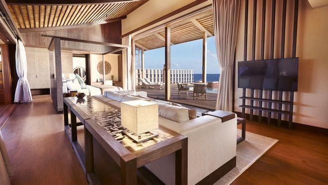 Tham quan khu nghỉ dưỡng xa hoa trên đảo nhân tạo với hệ thống pin Mặt Trời ngay trên mái nhà tại Maldives - Ảnh 18.