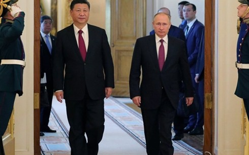 Xuất hiện cực Nga-Trung Quốc đối phó NATO và Mỹ trong quan hệ quốc tế - Ảnh 1.