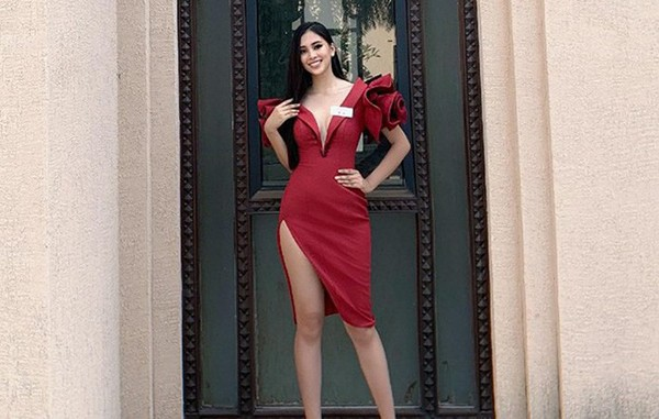 Hoa hậu Tiểu Vy ngày càng chuộng mốt gợi cảm - Ảnh 9.