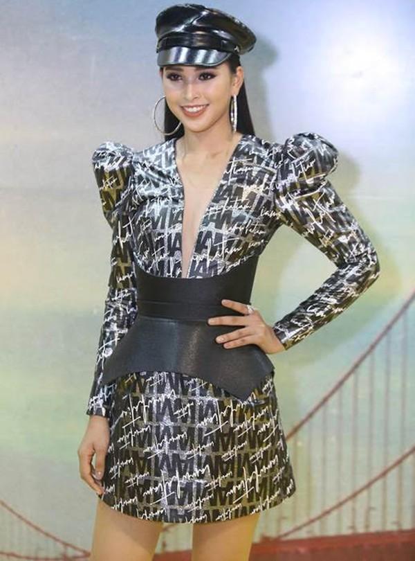 Hoa hậu Tiểu Vy ngày càng chuộng mốt gợi cảm - Ảnh 10.