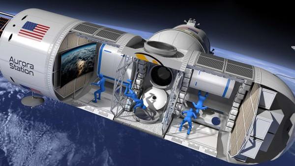 Chiêm ngưỡng khách sạn cao cấp đầu tiên trong không gian - Ảnh 1.