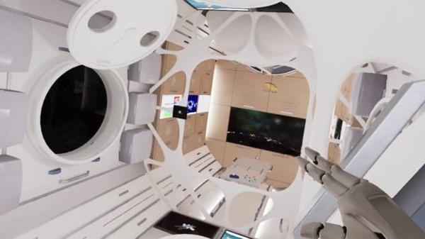 Chiêm ngưỡng khách sạn cao cấp đầu tiên trong không gian - Ảnh 5.