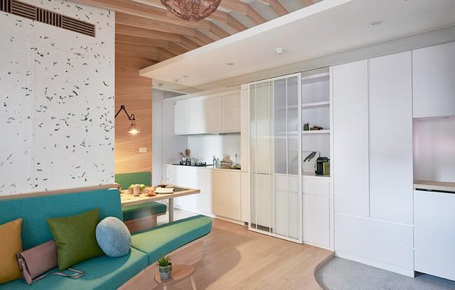 Chàng trai quyết rời nhà bố mẹ, dọn ra ở riêng trong căn hộ nhỏ xinh theo phong cách Nhật - Ảnh 7.