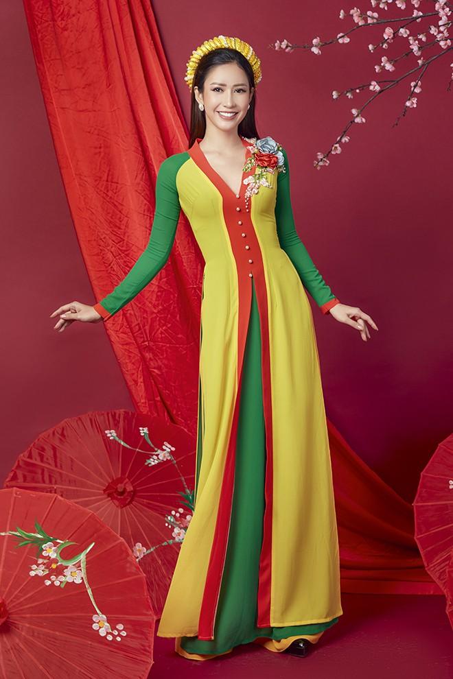Hoa hậu Phan Thu Quyên khoe nhan sắc xinh đẹp khi diện áo dài  - Ảnh 6.