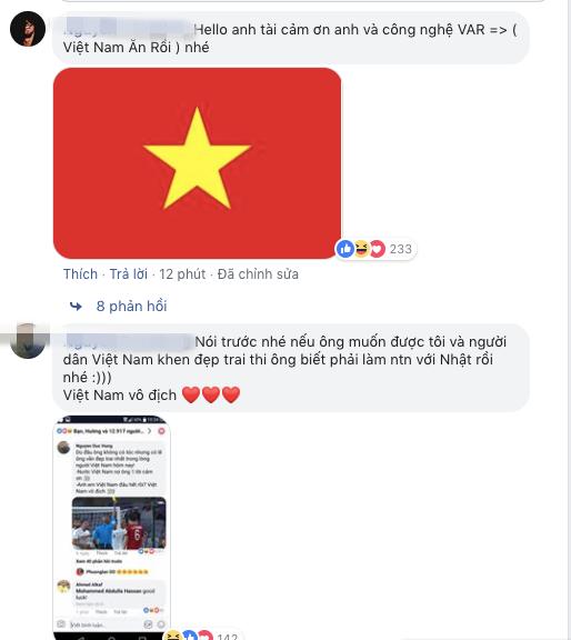 Vì VAR, CĐV Việt Nam lao thẳng vào facebook trọng tài, mời về nhà ăn Tết Nguyên Đán - Ảnh 1.