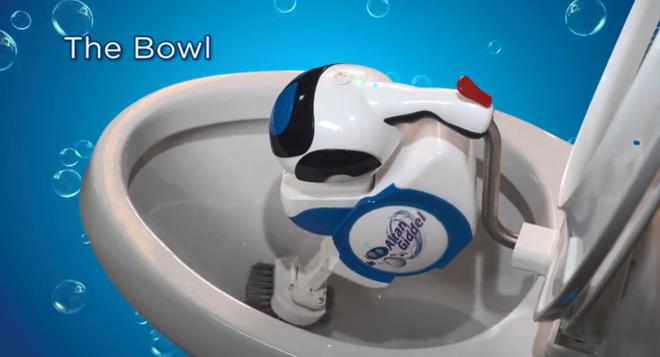 Không có ma quỷ nào chui lên từ toilet, nhưng con robot kỳ dị này sẵn sàng làm vậy đấy - Ảnh 2.
