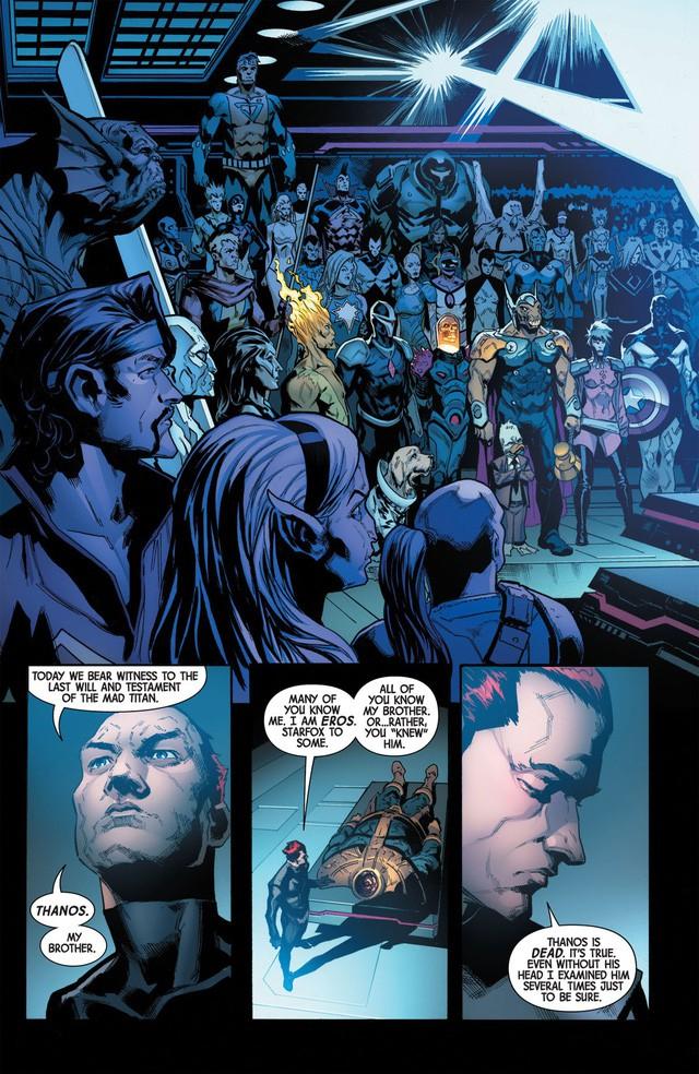 Giống Vua Hải Tặc trong One Piece, Thanos đã mở ra một kỷ nguyên vũ trụ mới với di chúc của chính mình trước khi chết - Ảnh 3.