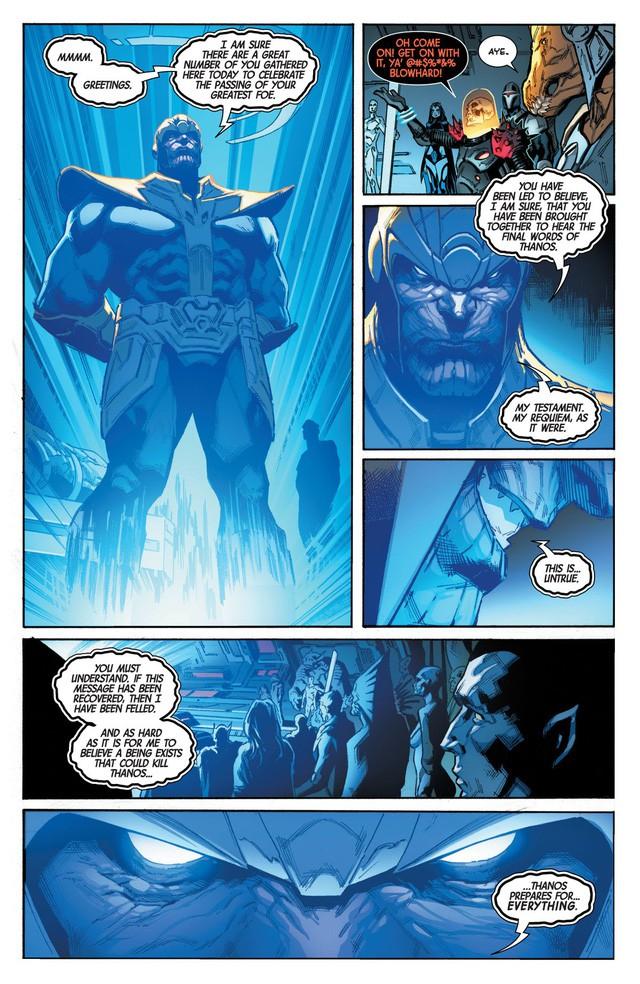 Giống Vua Hải Tặc trong One Piece, Thanos đã mở ra một kỷ nguyên vũ trụ mới với di chúc của chính mình trước khi chết - Ảnh 4.