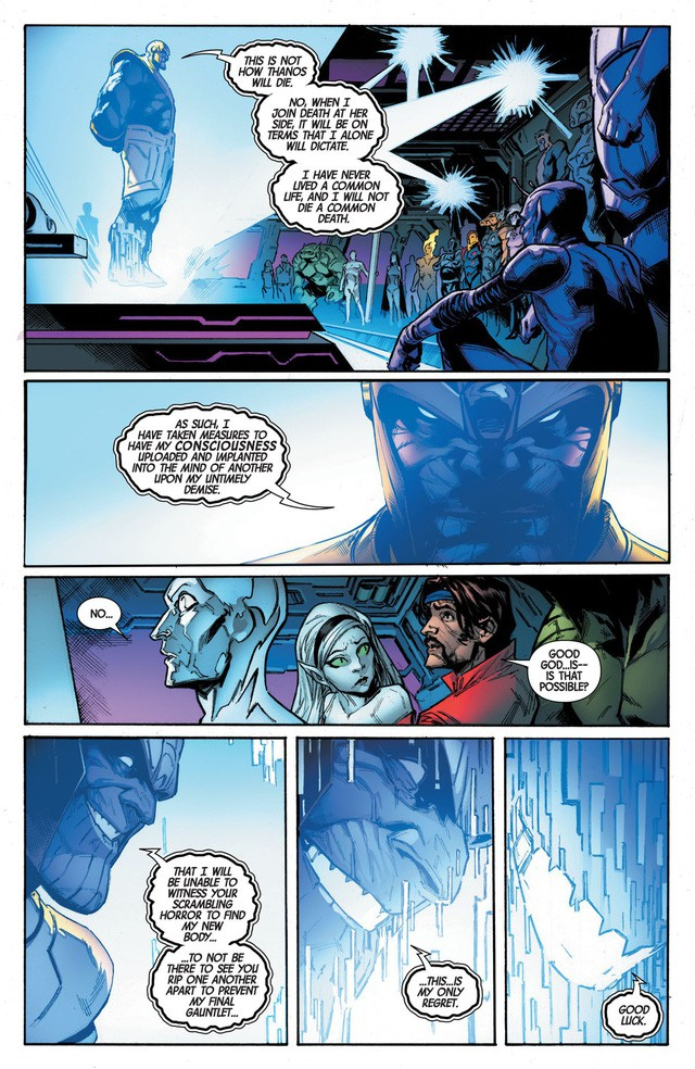 Giống Vua Hải Tặc trong One Piece, Thanos đã mở ra một kỷ nguyên vũ trụ mới với di chúc của chính mình trước khi chết - Ảnh 5.