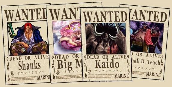 One Piece: Sau tất cả Shanks chính là người có mức truy nã cao nhất trong các Tứ Hoàng? - Ảnh 1.