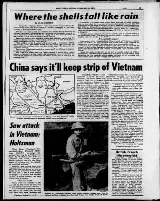 Chiến sự khốc liệt qua lời kể của hai nghị sĩ Mỹ có mặt ở Lạng Sơn, Lào Cai tháng 2/1979 - Ảnh 6.