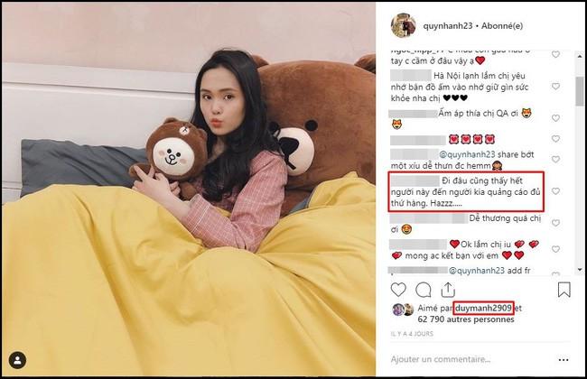 Tiếp bước bạn gái Quang Hải, người yêu Duy Mạnh cũng đang trở thành hot girl quảng cáo? - Ảnh 2.